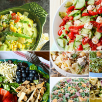 Delicious Dishes Party: Summer Salad Recipes