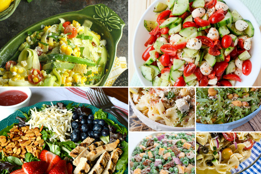 Make your BBQs perfect with these summer salad recipes!