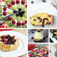 Delicious Dishes Party: Summer Blueberry Recipes