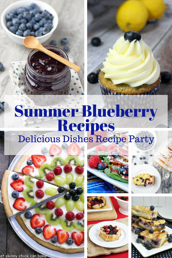 Looking for wonderful summer blueberry recipes? See them all here in our blueberry recipe round up!