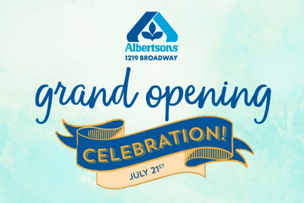 Boise Friends: There's a New Albertsons in Town! (+ Grand Opening!)