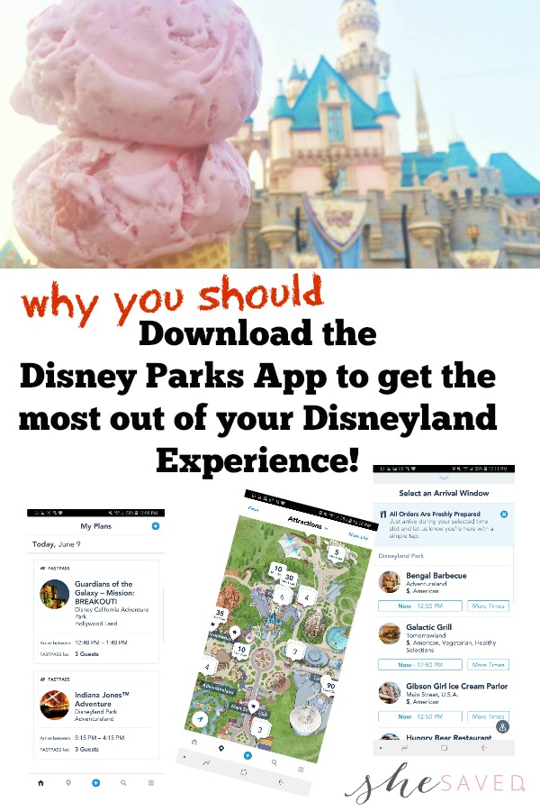 Headed to Disneyland? Here's why we think you should download the Disney Parks App to make your trip easier and stress free!