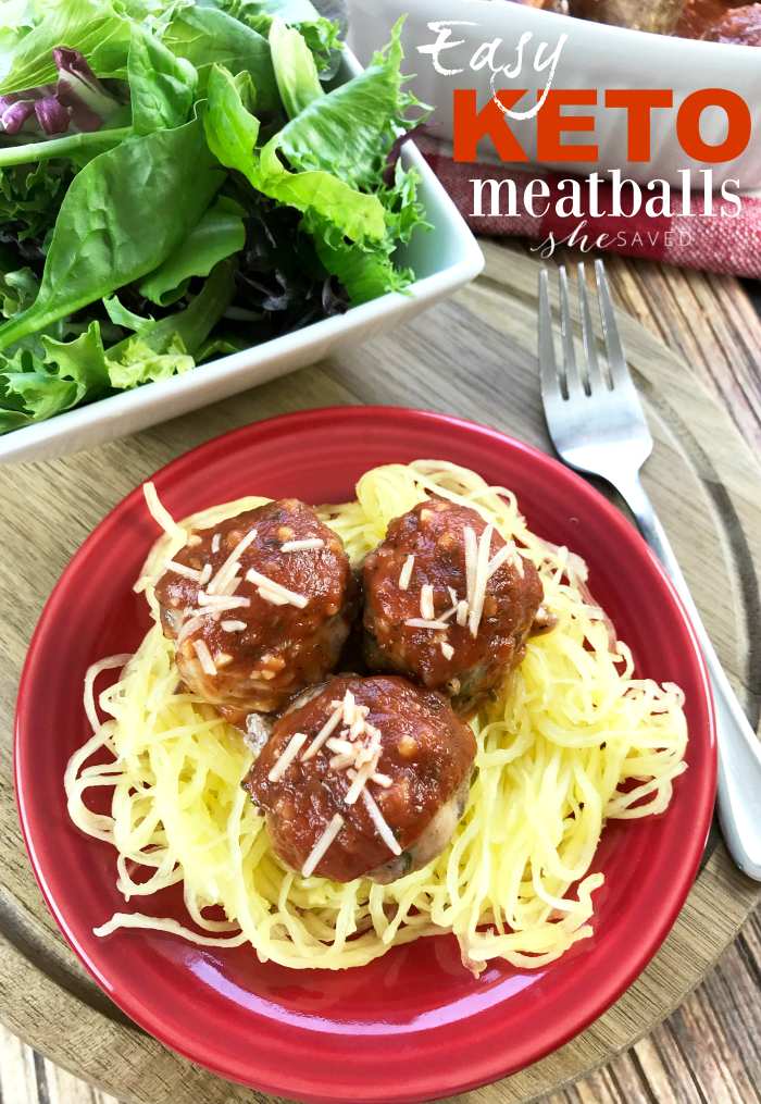 These Easy Keto Meatballs are perfect even if you don't follow a Keto diet and are a great option for when you have friends over that do!