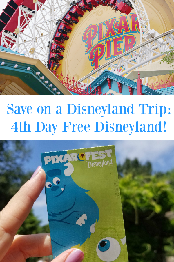 Planning a Disney trip? Here's a way to save on a Disneyland trip and get a 4th day FREE!