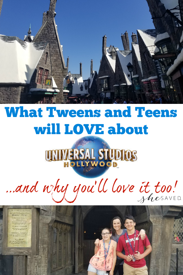 Find out why we think that Universal Studios Hollywood for Teens and Tweens is the PERFECT family vacation!