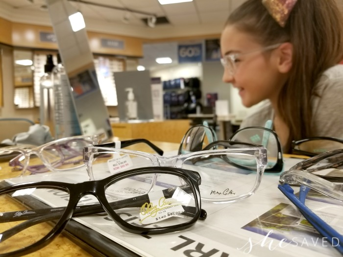3c0b335373b One thing that I love about JCPenney Optical is that I can sit back and let  my daughter sort through the glasses at her own pace and find the ones that  she ...