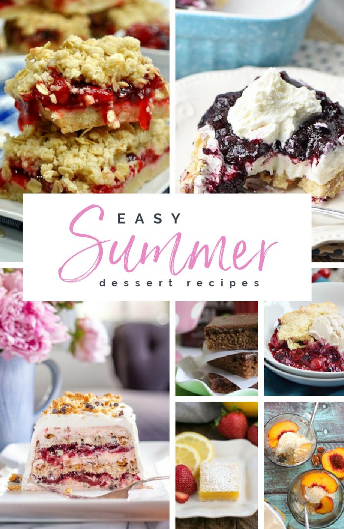 Easy Summer Dessert Recipe