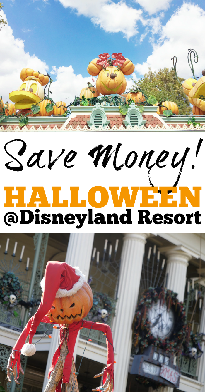 Halloween at Disneyland Resort is the best! Save money with these helpful tips!