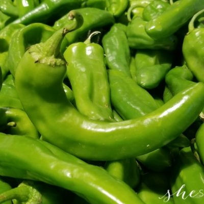 Hatch Chiles at Albertsons