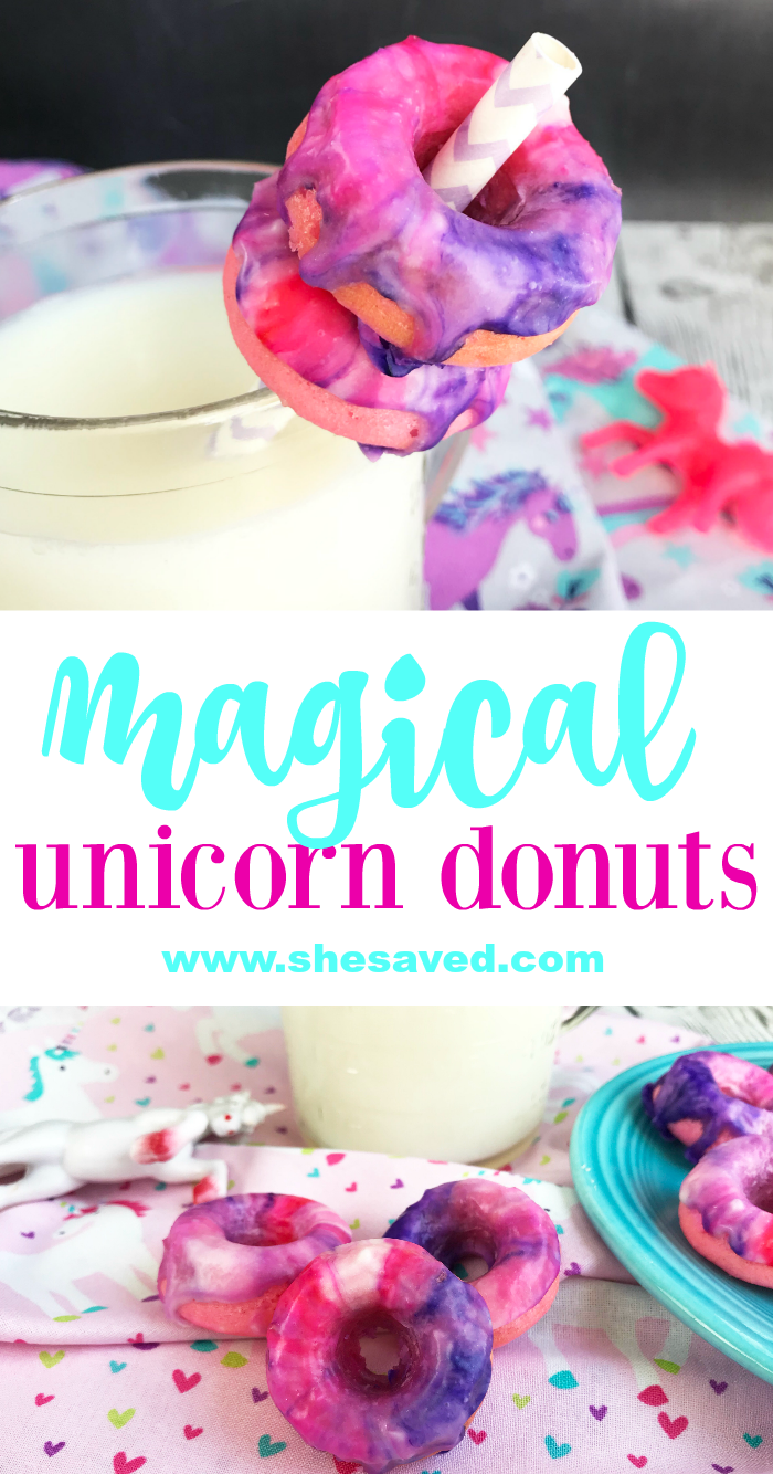 How to make Magical Unicorn Donuts for your Unicorn themed birthday party