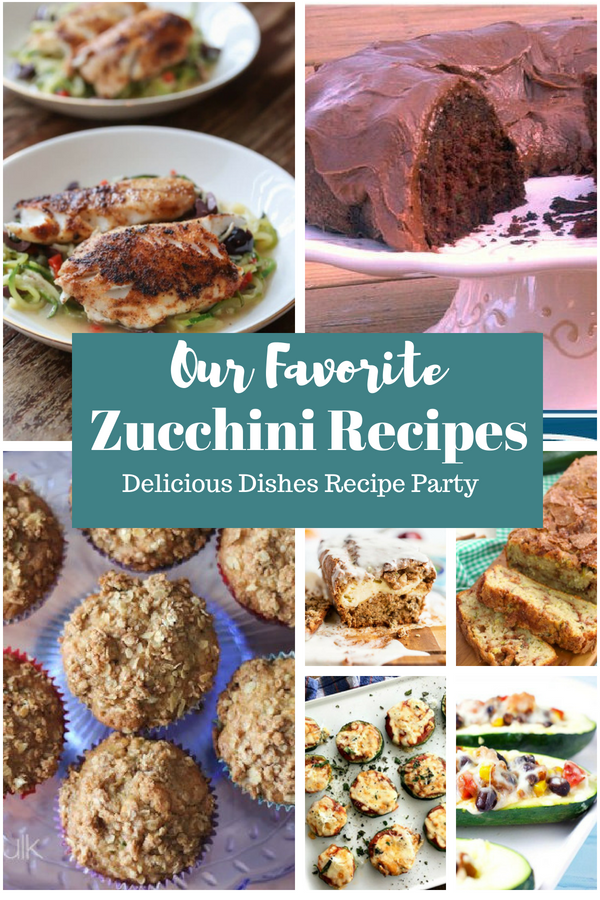 The very best and favorite summer zucchini recipes!