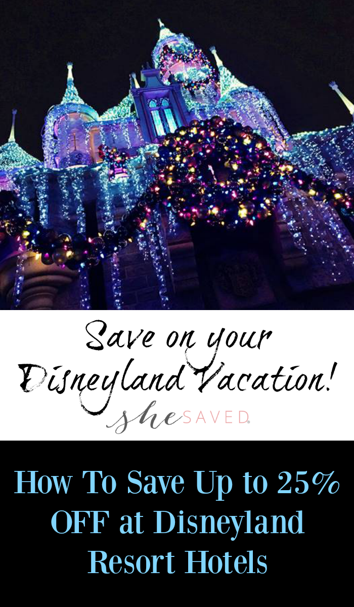 Want to do the holidays at Disneyland!? Here are some ways to save at disneyland resort hotels!