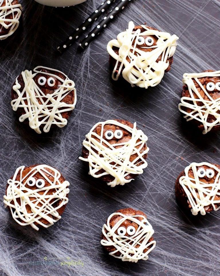 mummy brownie