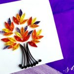 Fall Leaf Quilling