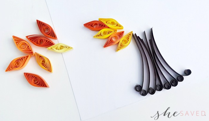 Fall Tree Quilling