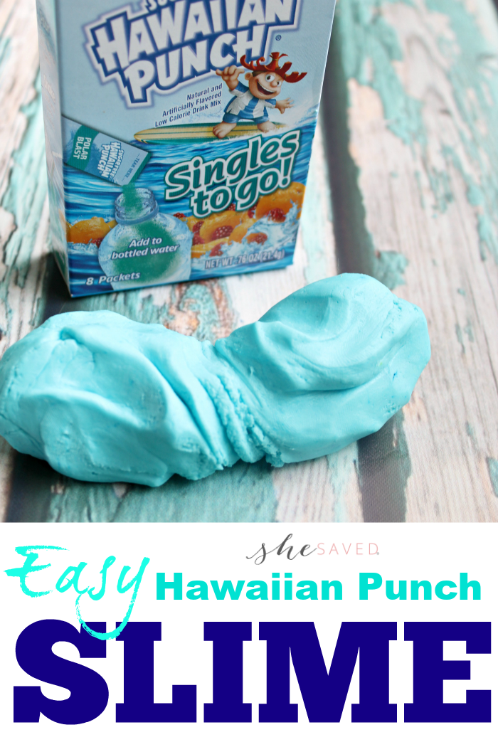 Hawaiian Punch Slime