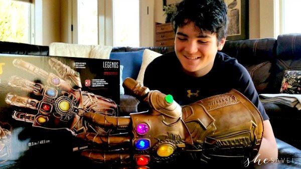 Hasbro Marvel Legends Series Infinity Gauntlet Electronic Fist at GameStop + GIVEAWAY!!