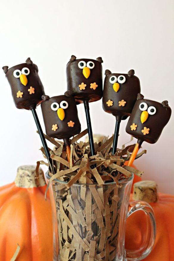 owl marshmallow