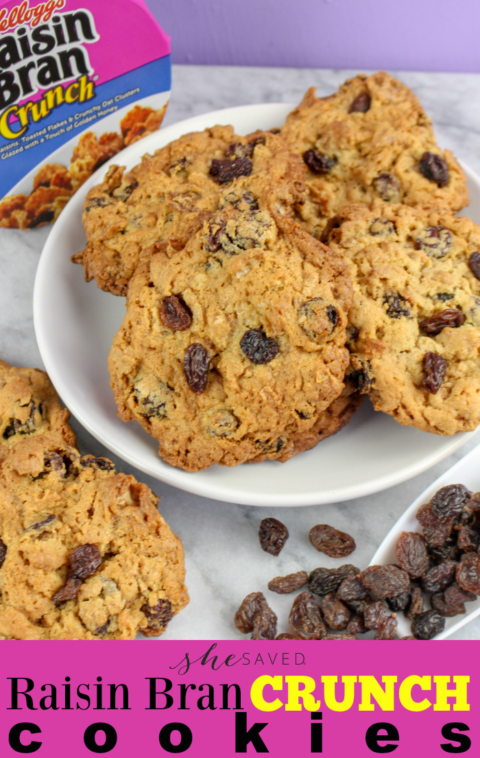Raisin Bran Crunch Cookie