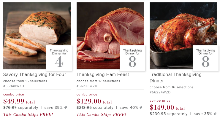 Omaha Steaks Thanksgiving Dinner