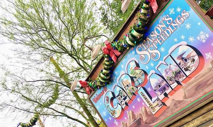 Cars Land at Christmas (and how to save!)