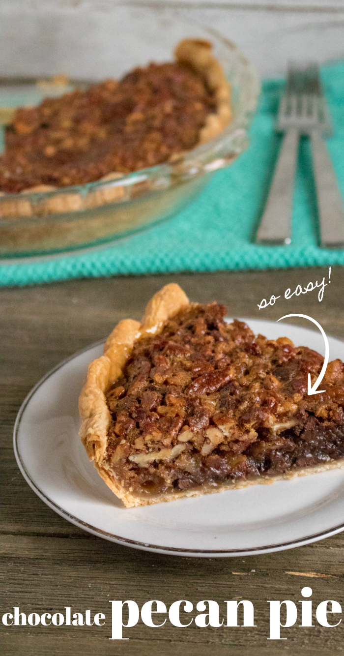 Easy Chocolate Pecan Pie recipe