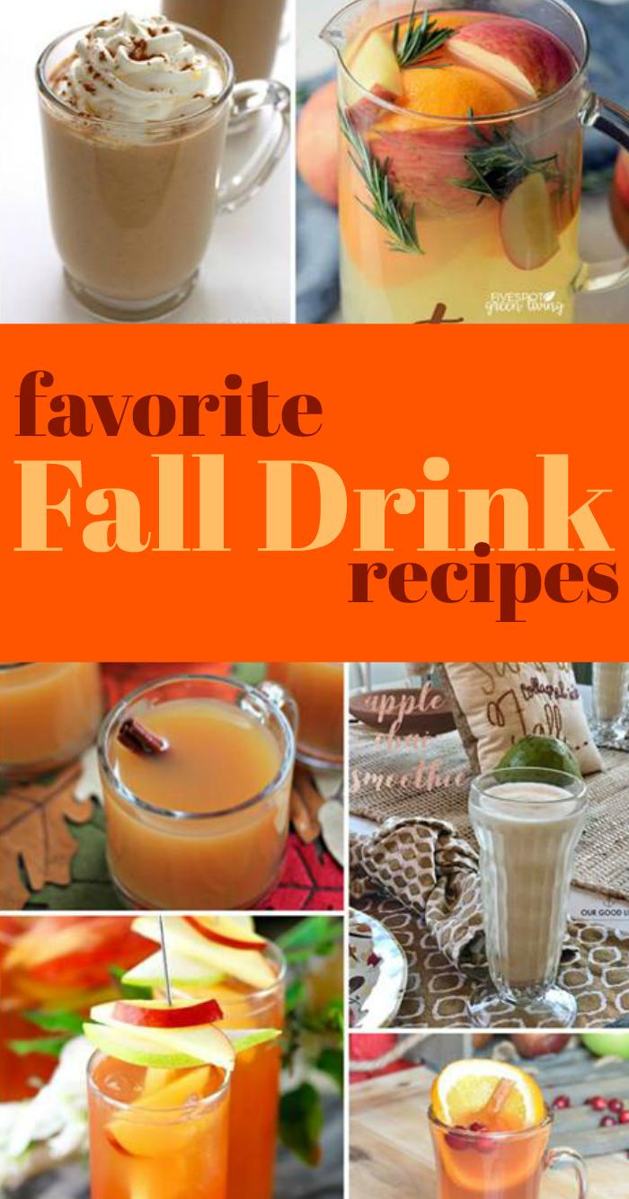 Favorite Fall Drink Recipe Roundup