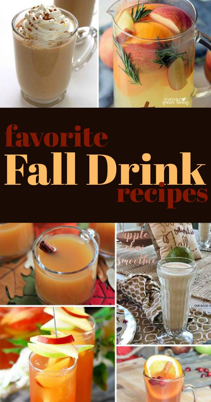 favorite fall drink recipe ideas