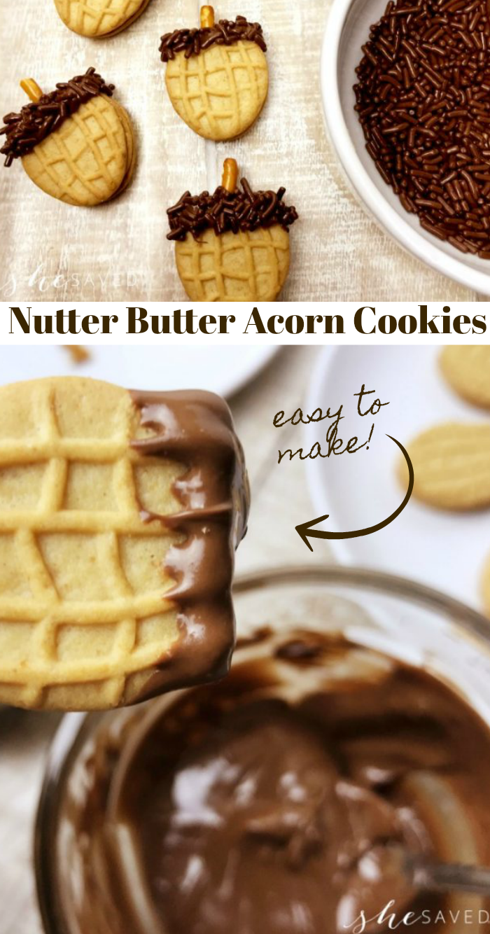 These Nutter Butter cookies are perfect for fall and pair perfectly with autumn classroom lessons or fall harvest festivities!
