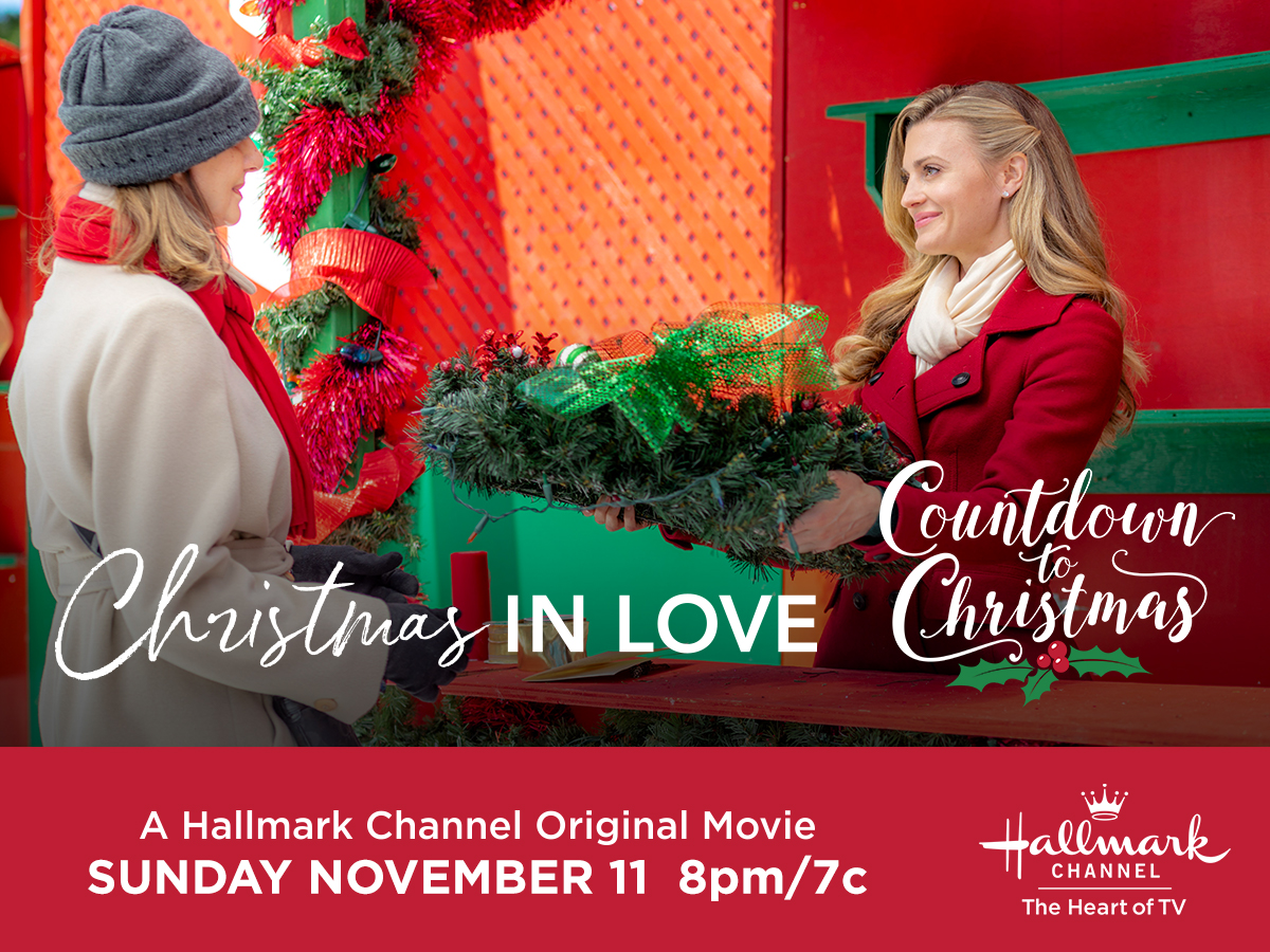 HALLMARK CHANNEL'S Christmas in Love + Giveaway! - SheSaved®