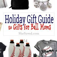 Holiday Gift Guide: Baseball Mom Gift Ideas