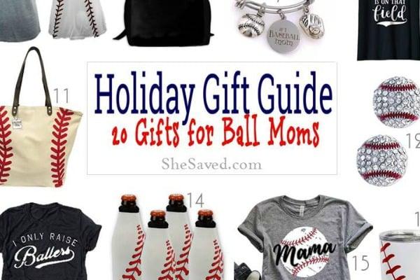 Baseball Mom Gift Ideas