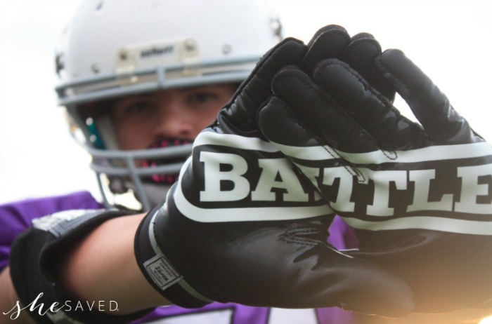Battle Sports Football Gloves
