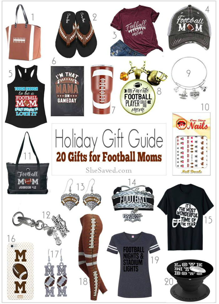 Football Mom Gift Ideas