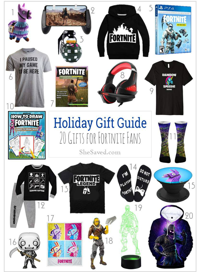 Fortnite Gift Ideas for the Fortnite Fan on your list!