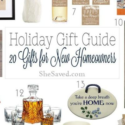 Gift Ideas for Homeowners