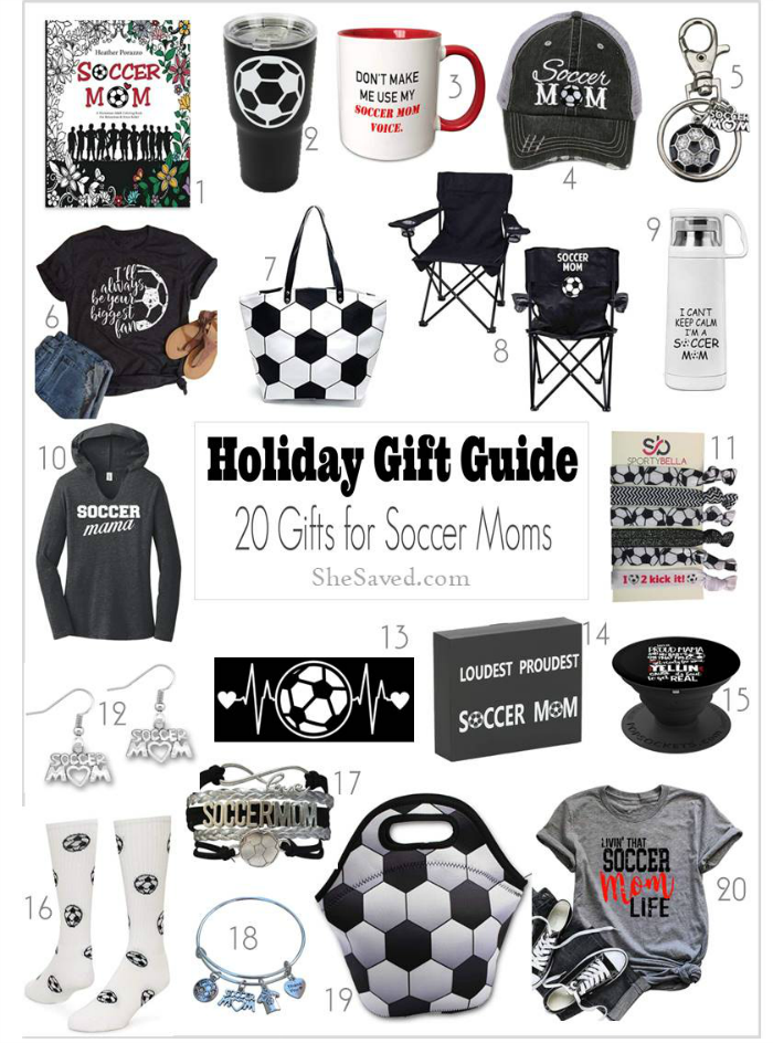 Gifts for Soccer Moms