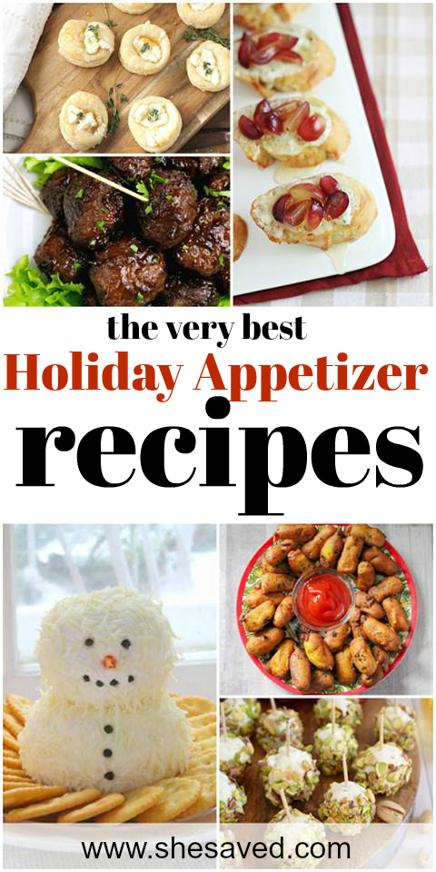 The very best Holiday Appetizers