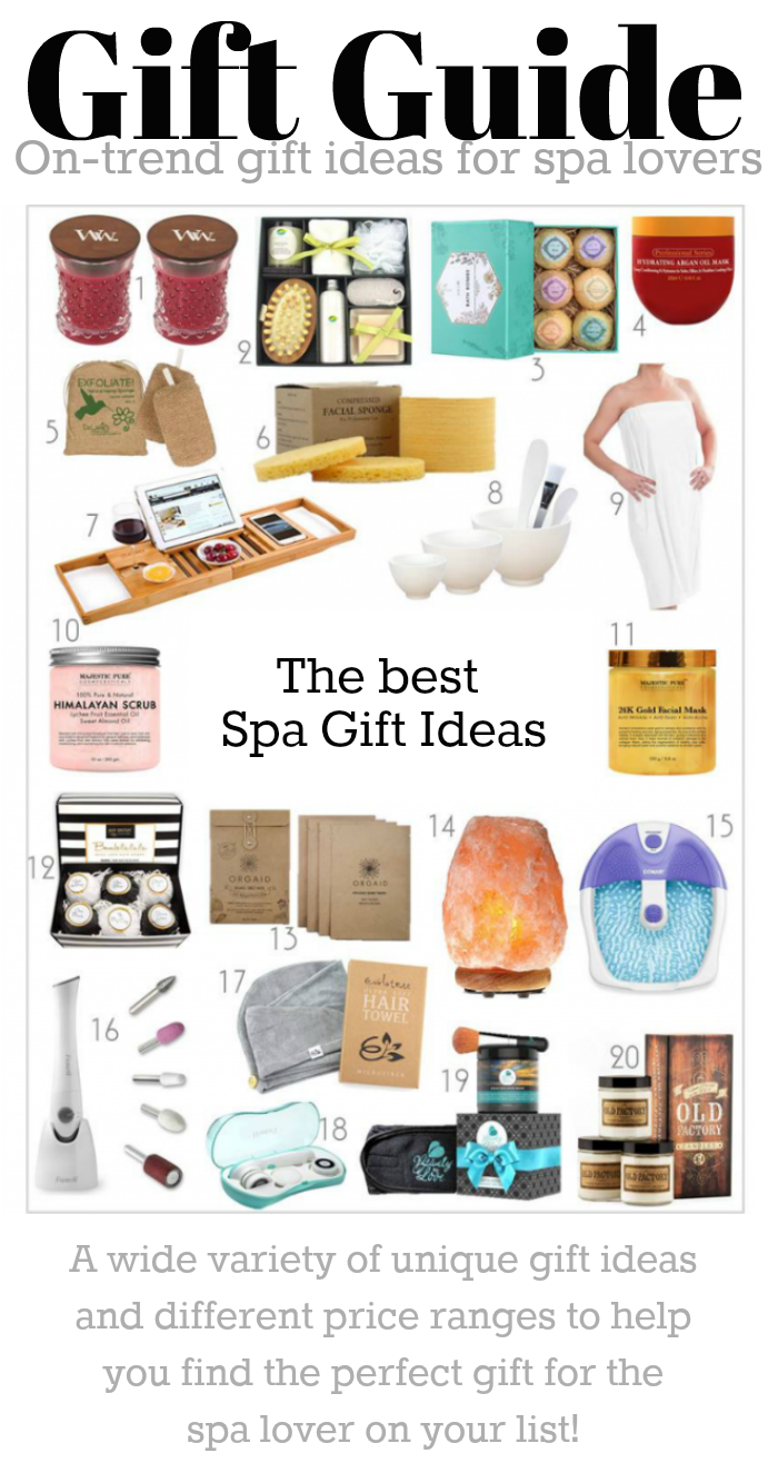On-Trend Gifts for Spa Lovers