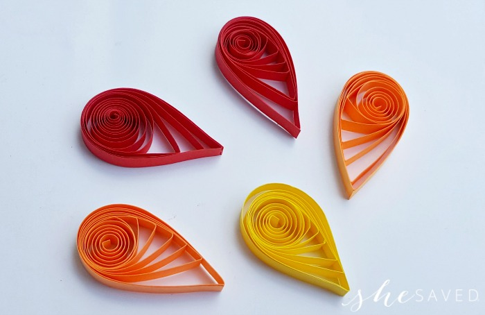 Quilled Turkey Craft