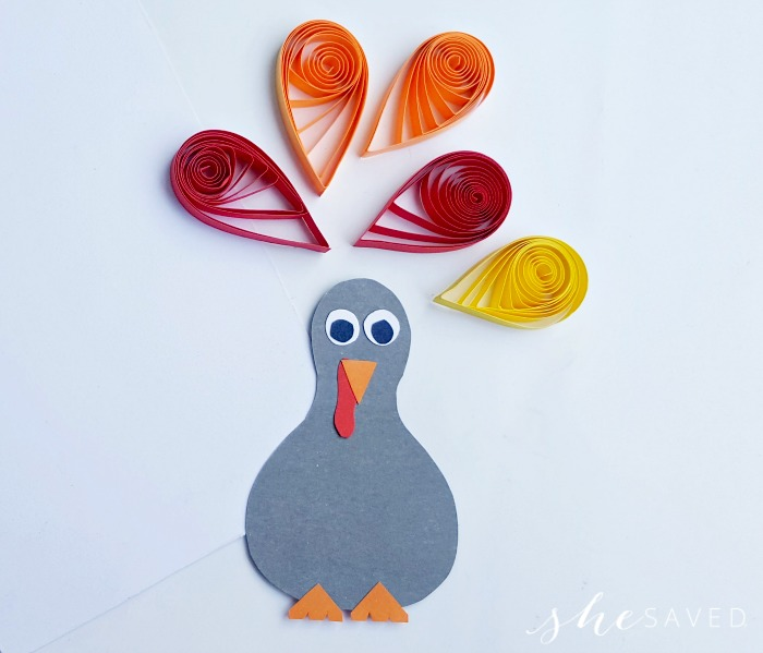 Quilled Turkey