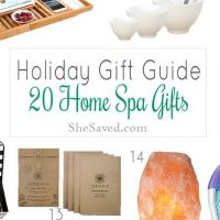 Home Spa Gift Ideas