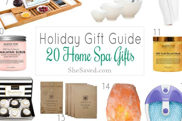 sc 1 st  SheSaved & Holiday Gift Guide: Home Spa Gift Ideas - SheSaved®