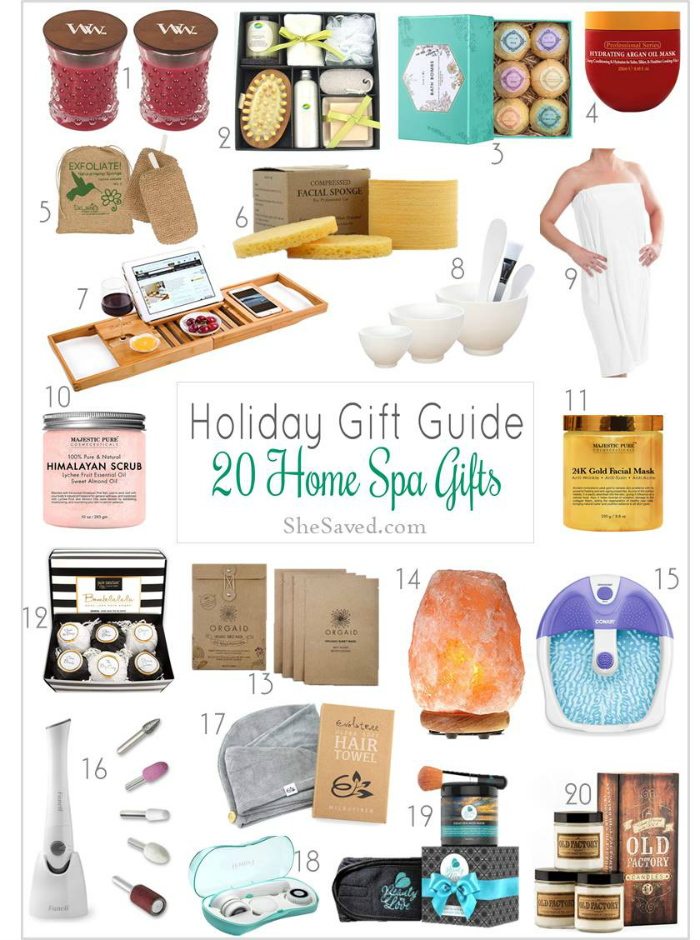 Spa Gift Ideas