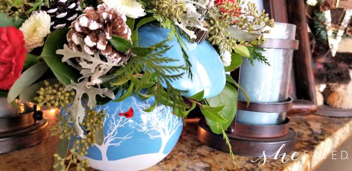 Teleflora Bowl Vase