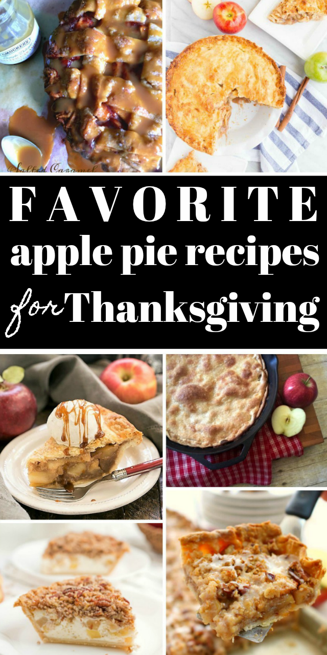 Thanksgiving Apple Pie Recipe