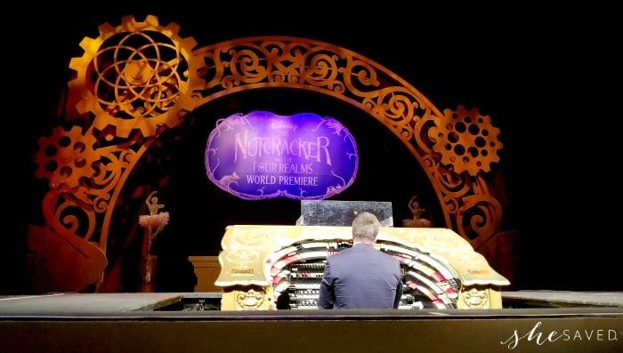 The El Capitan Organist at The Nutcracker Premiere