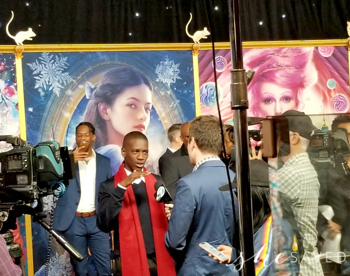 Red Carpet Moment from the Nutcracker Premiere