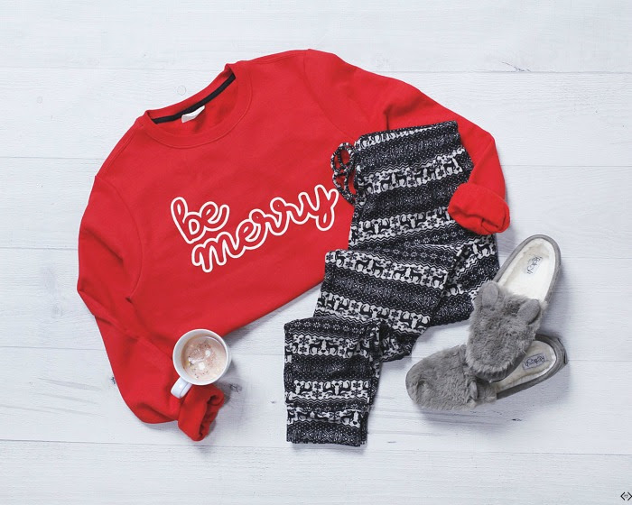 Be Merry Sweatshirt