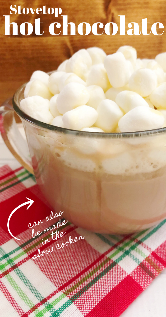 Best stovetop hot chocolate recipe